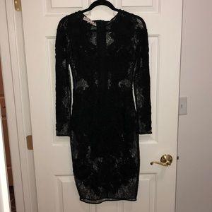 House of CB black lace dress